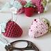 Strawberry Scissor Keeper pattern