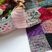 Happy Scrappy Squares Blanket pattern