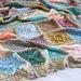Vintage Sampler Blanket pattern