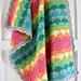 Clamshell Blanket pattern