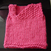 Little Cable and Seed Stitch Vest pattern