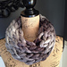 Chunky Loom Knit infinity Cowl pattern