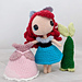 Ariel Little Mermaid Amigurumi pattern