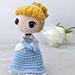 Cinderella Princess Amigurumi pattern