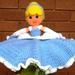 Cinderella Lovey pattern