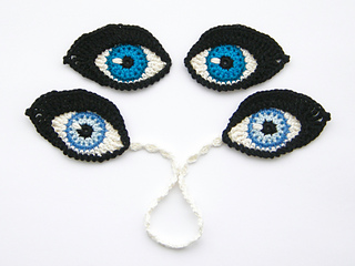 cute eyes for boy's hat. free pattern | Crochet eyes, Crochet hats ... | 240x320