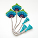 Bookmark Peacock Feather Fan pattern
