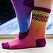 Space Socks pattern