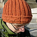 Knitted Library Window Watchcap pattern