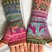 SH's Fair Isle Fingerless Gloves pattern