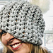 Wintery Mix Slouch Hat pattern