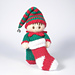 Christmas Boy Elf Bitsy Baby Doll pattern