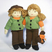Jesse and Josie Dolls - Go Exploring pattern