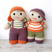 Benjy and Bo dolls pattern