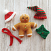 Gingerbread Man Clothes pattern