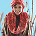 Slouchy Hat and Cowl (Cowl) pattern