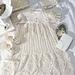 Pineapple Christening Gown Set pattern