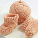 Baby Booties to Knit in the Portuguese Style pattern