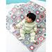 Color Wheels Blanket pattern