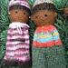 Felted Comfort dolls pattern