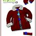 Little Girl's Swing Coat Set pattern