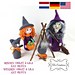 Halloween Witches Heksen pattern