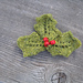 Holly & Berries, Pin pattern