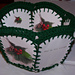 Recycled Christmas Card Basket pattern