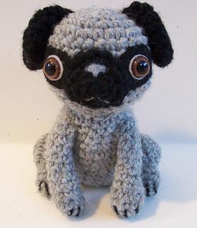 Baby Knitting Patterns Crochet Baby Pug Amigurumi... | 320x277