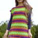 Simple Rectangle Tunic Dress pattern