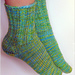 First-Time Toe-Up Socks (Any Gauge) pattern