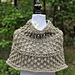 Corrugated Lace Capelet pattern