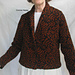 Stranded Shawl Collar Jacket pattern