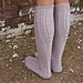 Lissajous Socks pattern