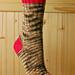Red Thread Socks pattern