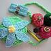Five or Six petal flowery purse pattern