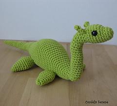Loch Ness Monster Nessie Crochet Amigurumi Pattern | Etsy | 219x240