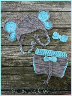 Elephant crochet hat-free pattern   Crochet animal hats, Crochet ...   320x240