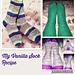 Cosy Vanilla Socks pattern