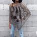 Versatile Trendy Poncho pattern