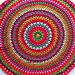Mega granny mandala pattern