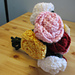 Crochet Rose With Stem pattern