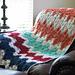 Basket Weave Chevron Afghan pattern