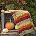 Colors of Autumn Throw pattern