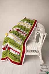 Blooms of Summer Afghan crochet pattern