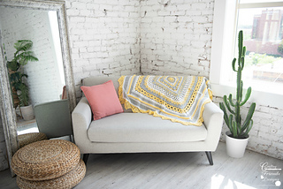 Sunny Day Blanket crochet pattern by Crafting Friends Designs