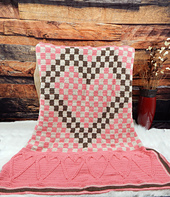 Checkmate Heart Throw