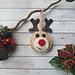 Christmas Reindeer Tree Decoration pattern