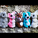 Cute Critters 2: Bunny Cat Dog Hamster Mouse pattern