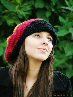 Ravelry Rasta Slouch Hat With Or Without Brim Pattern By